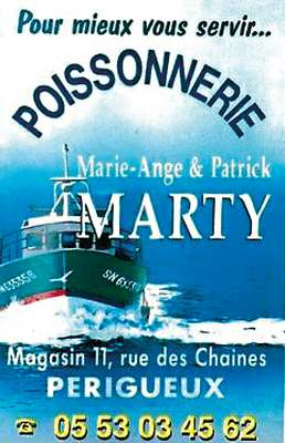 Marty poissonnerie