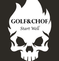 Logo Golf  Chof